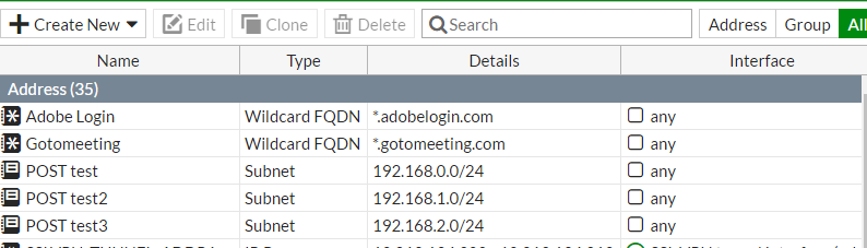 FortiGateをREST APIで管理する – Aimless